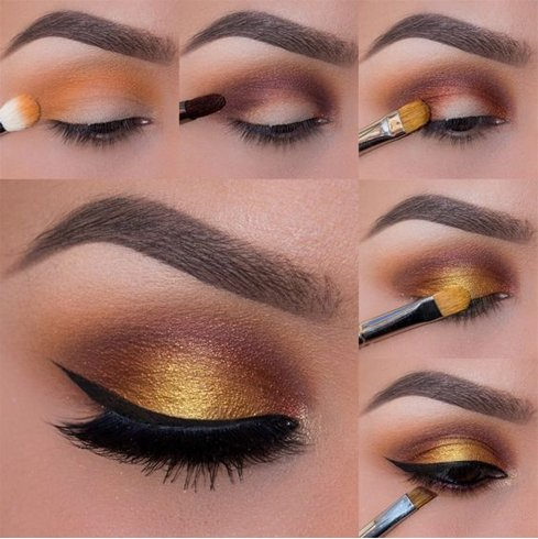 The Sunset Gold Copper Looks