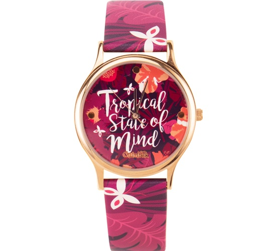 Tropical State Of Mind Wrist Watch
