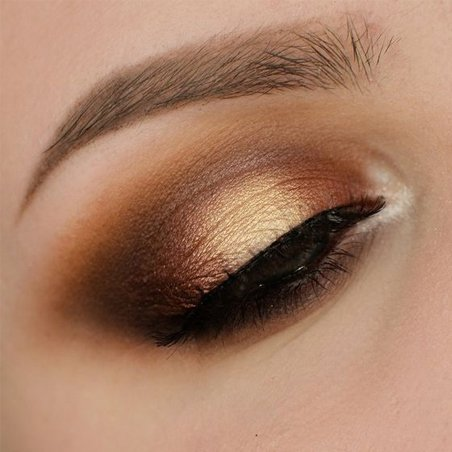 Warm Smokey Copper Eyes