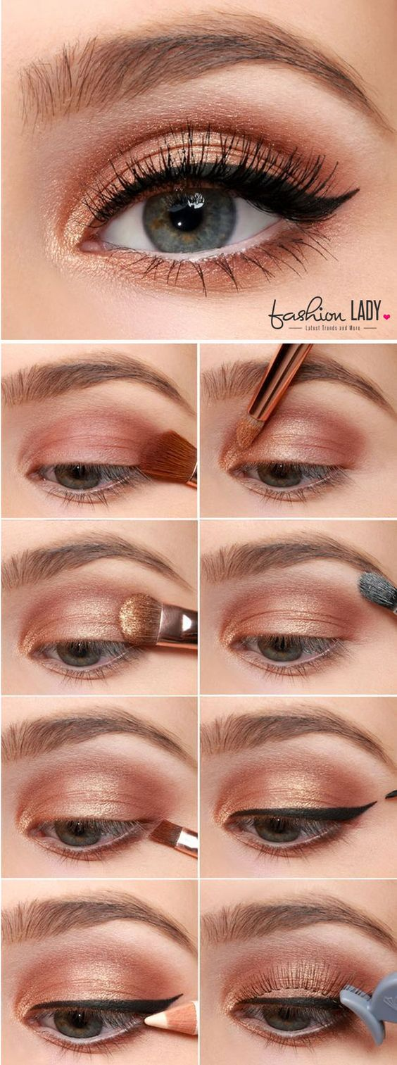 7 Exquisite Ways You Could Wear Copper Eyeshadow To Make A