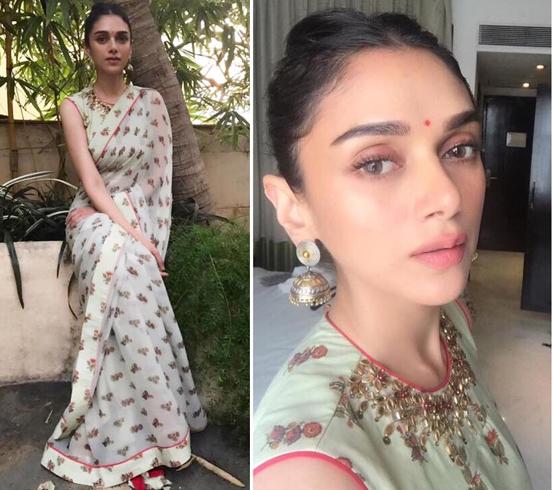 Aditi Rao Hydari Sari Styles