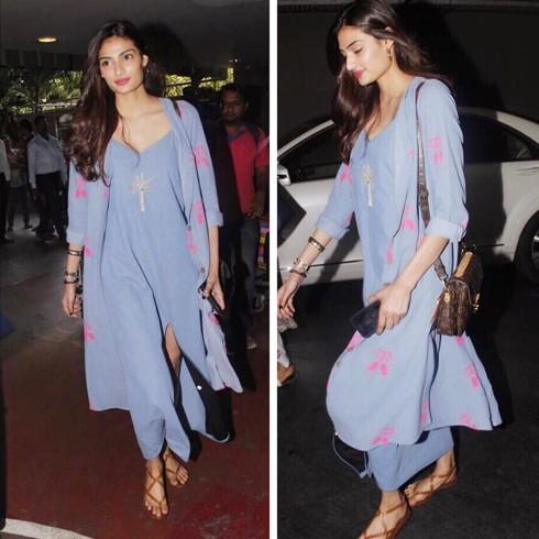 Athiya Shetty at Airport