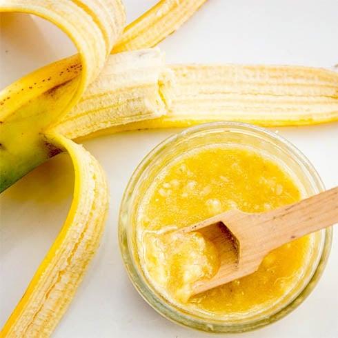 Banana and Honey Mask for Hair
