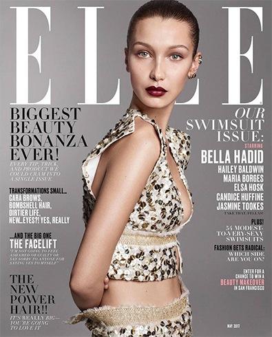 Bella Hadid for Elle US