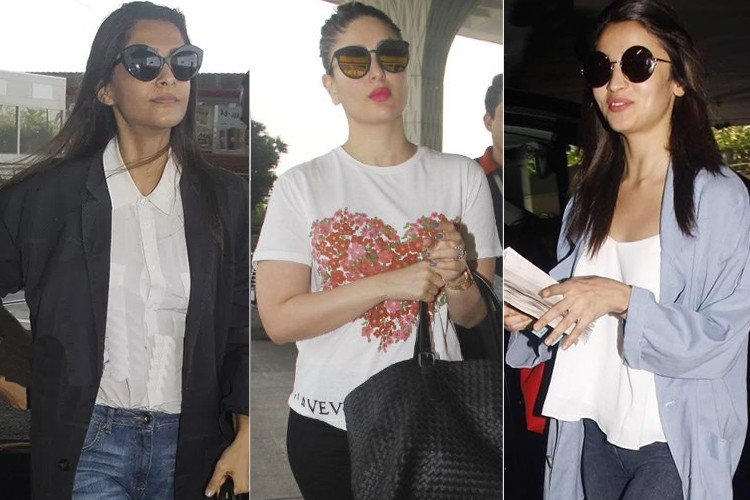 Bollywood Stars Airports Fashion
