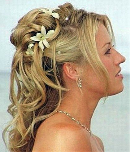 Bridesmaid Hair Updo