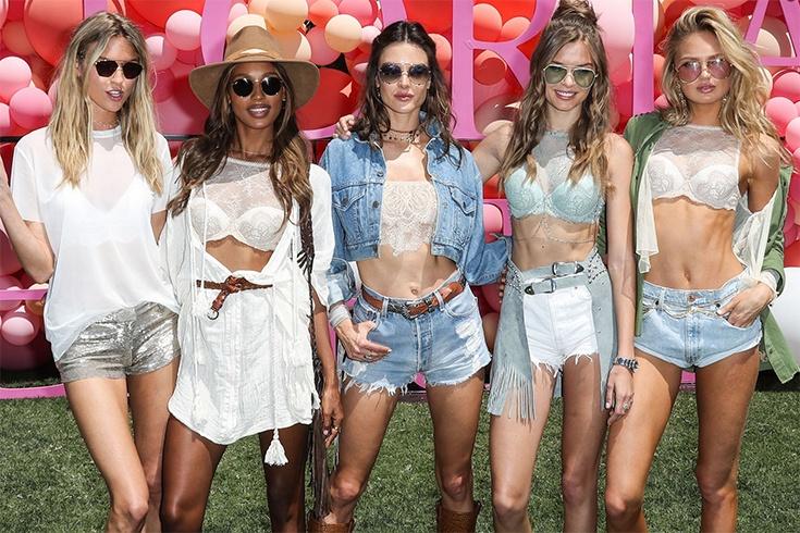 Celebrities At Coachella 2017