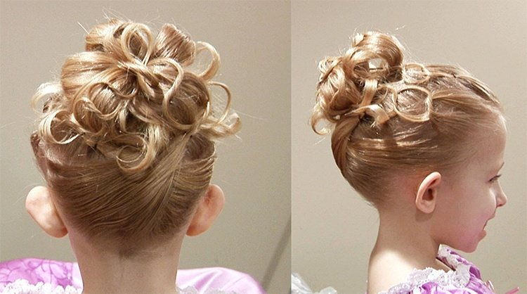 Childrens Bridesmaid Hairstyles