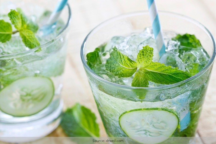 Cucumber Water Recipes