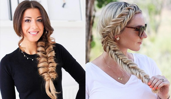 Hairstyles With Fishtail Braid: Easy To Sport And Make