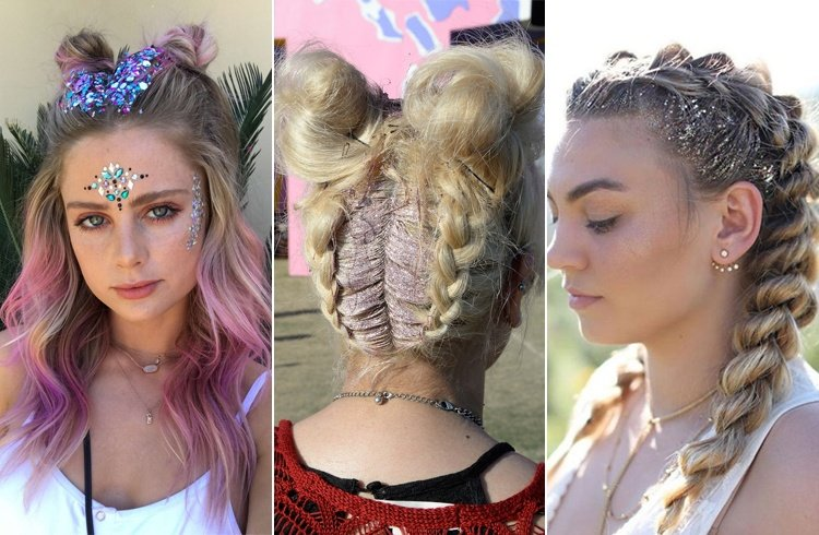 9 Head Turning Hairstyles From Coachella 2017 To Try This