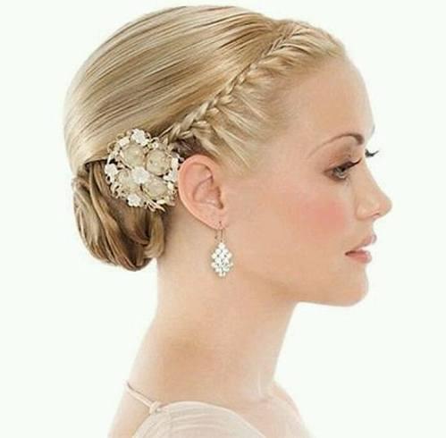 Hairdo for Bridesmaid