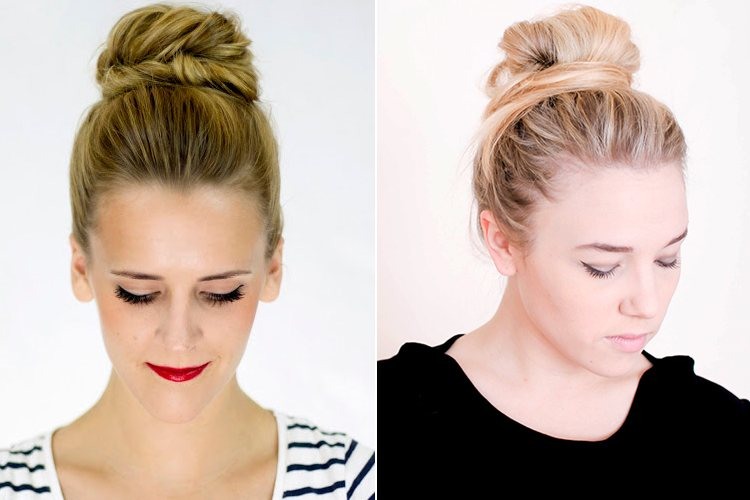 Hairstyles for Dirty Hair