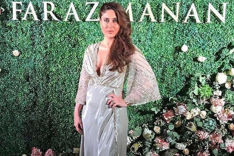 Kareena Kapoor at Faraz Manan Show