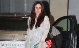 Kareena Kapoor Khan at Mom Birthday