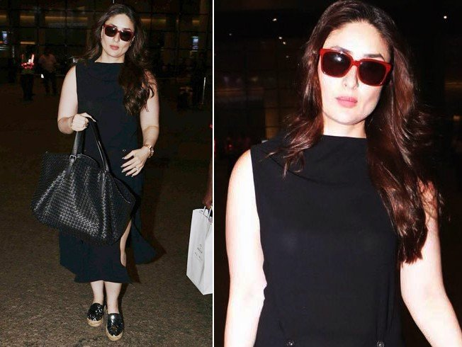Kareena Kapoor Airport Fashion
