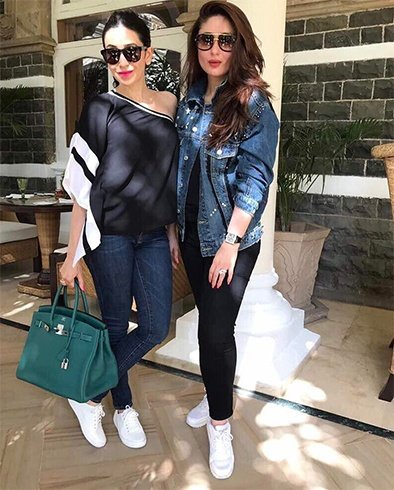 Kareena Kapoor and Karishma