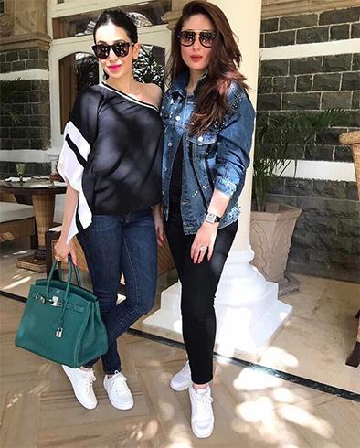 Kareena Kapoor and Karishma