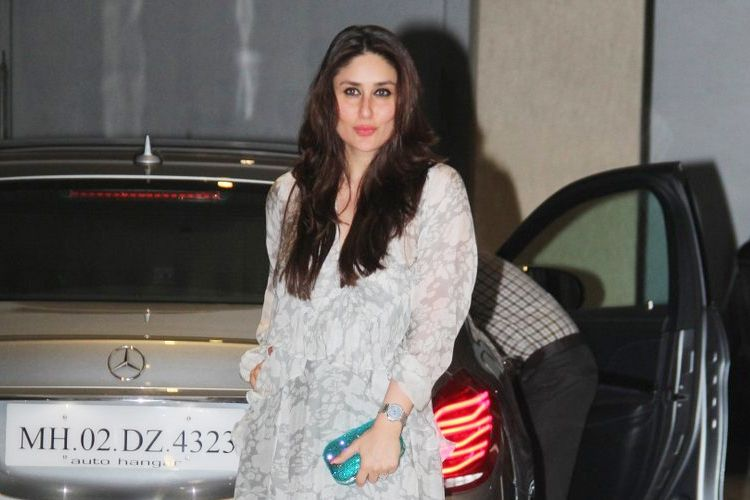 Kareena Kapoor Khan at Mom Birthday