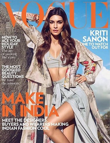 Kriti Sanon on Vogue