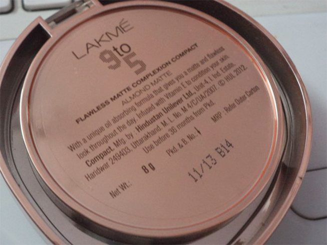Lakme 9 To 5 Compact Powder