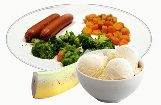 Military Diet Day 2 Plan Menu Dinner