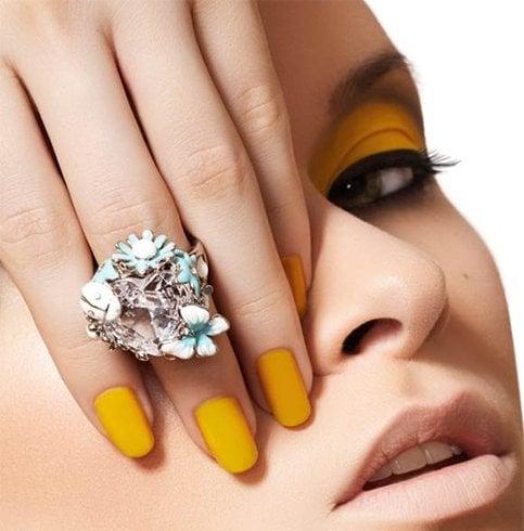Nail Color for Dark Skin