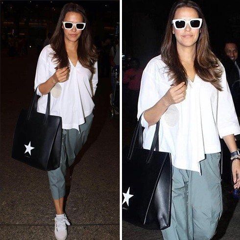 Neha Dhupia Airports Fashion
