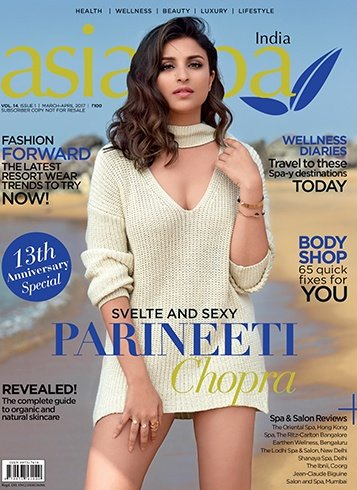 Parineeti Chopra on Asia Spa