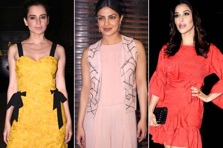 Priyanka Chopra Hosted Party Fashion