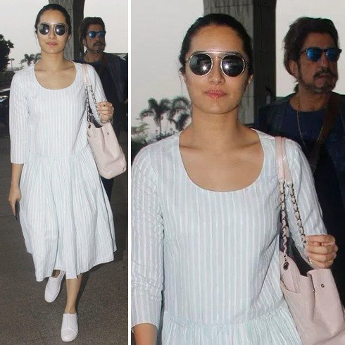 Shraddha Kapoor Airports Fashion