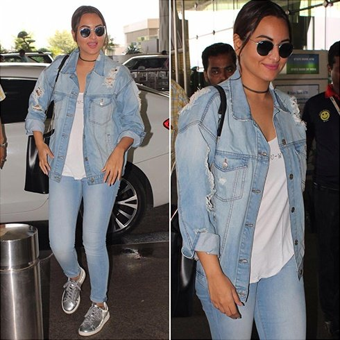 Sonakshi Sinha Airports Fashion