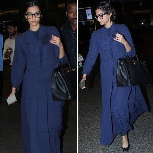 Sonam Kapoor Airports Fashion