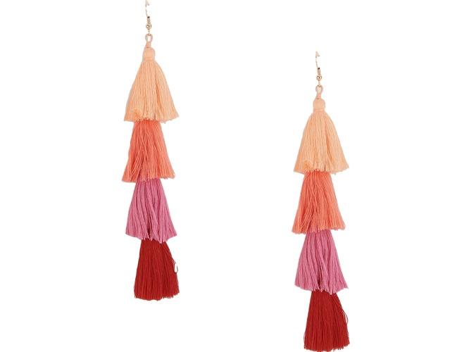 tassle drop earrings
