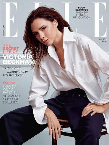 Victoria Beckhamfor Elle UK