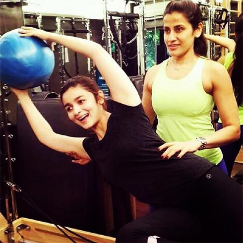 Alia bhatt Workout Plan