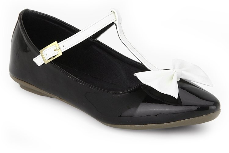 Black Bow Belly Shoes