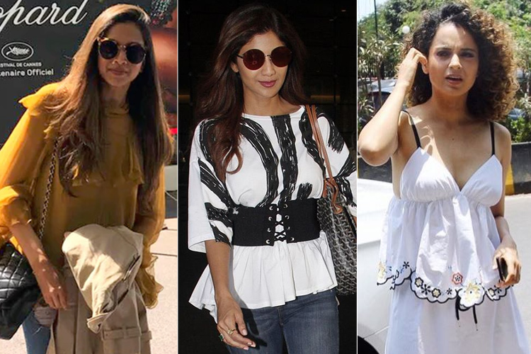 Bollywood Beauties Airport Style