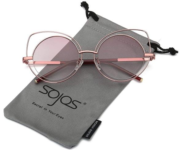 Cutout Cat Eye Sunglasses
