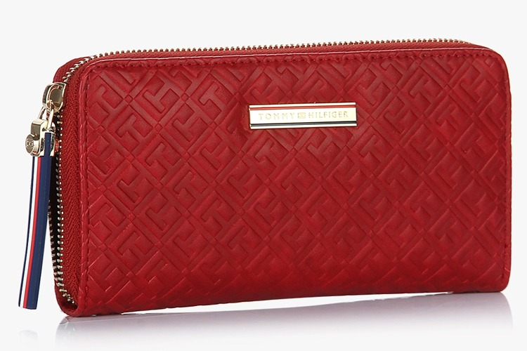 Doris Red Wallet