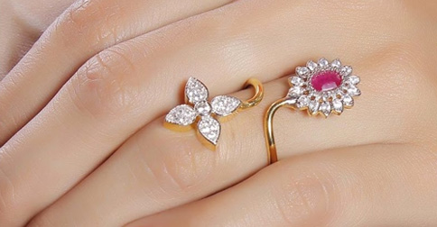 29 finger ring design jewelry