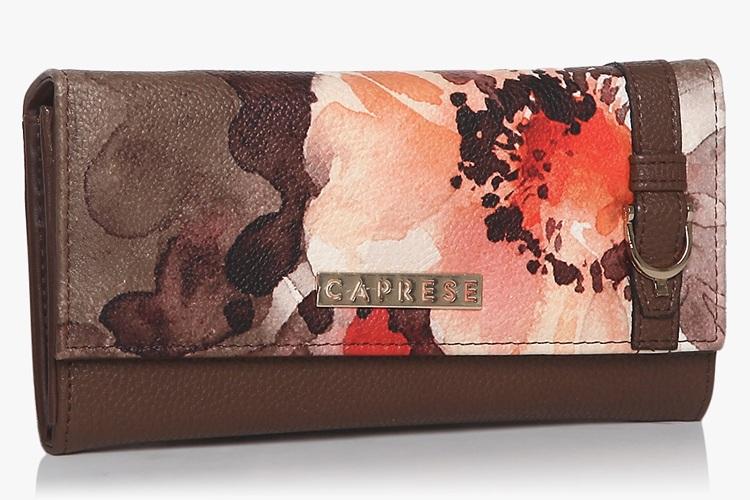Florence Brown Medium Wallet
