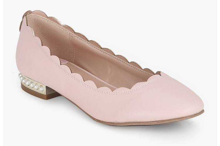 Heavenly Pink Belly Shoes