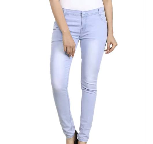Ico Blue Star Slim Womens Light Blue Jeans