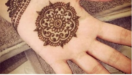 Mehndi Designs For Child