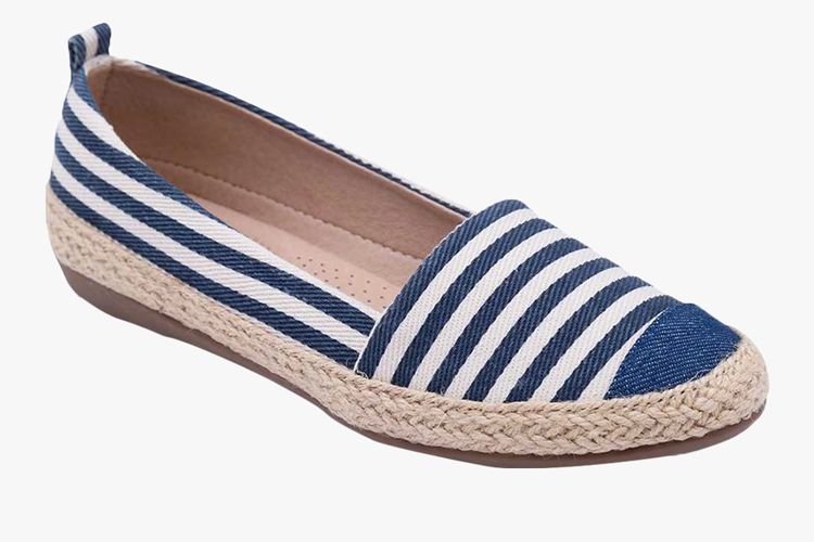 Navy Blue Belly Shoes