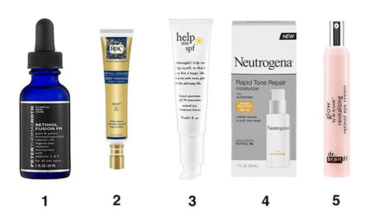 Retinol Creams for neck fat