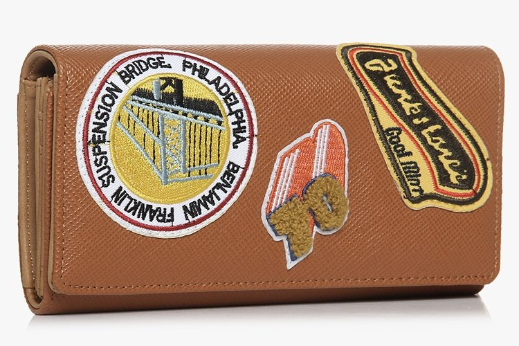 Tan Cognac Wallet