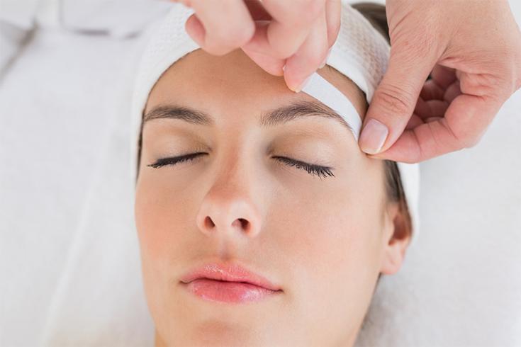 Waxing Eyebrow Makeup
