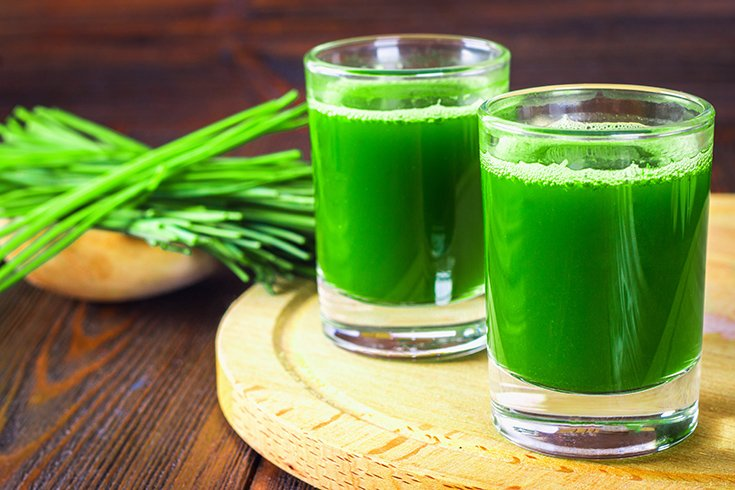 Wheatgrass Juice for Toothache